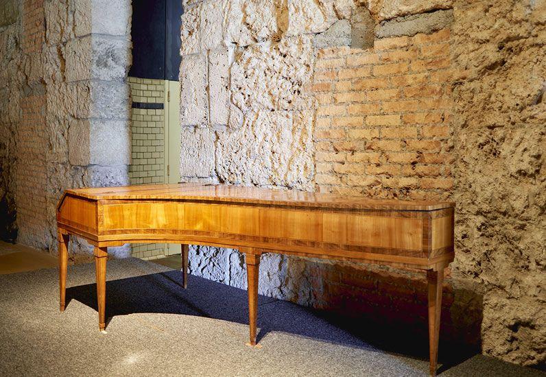 Forte Piano de Aloys Mooser sur la scène du MAHF